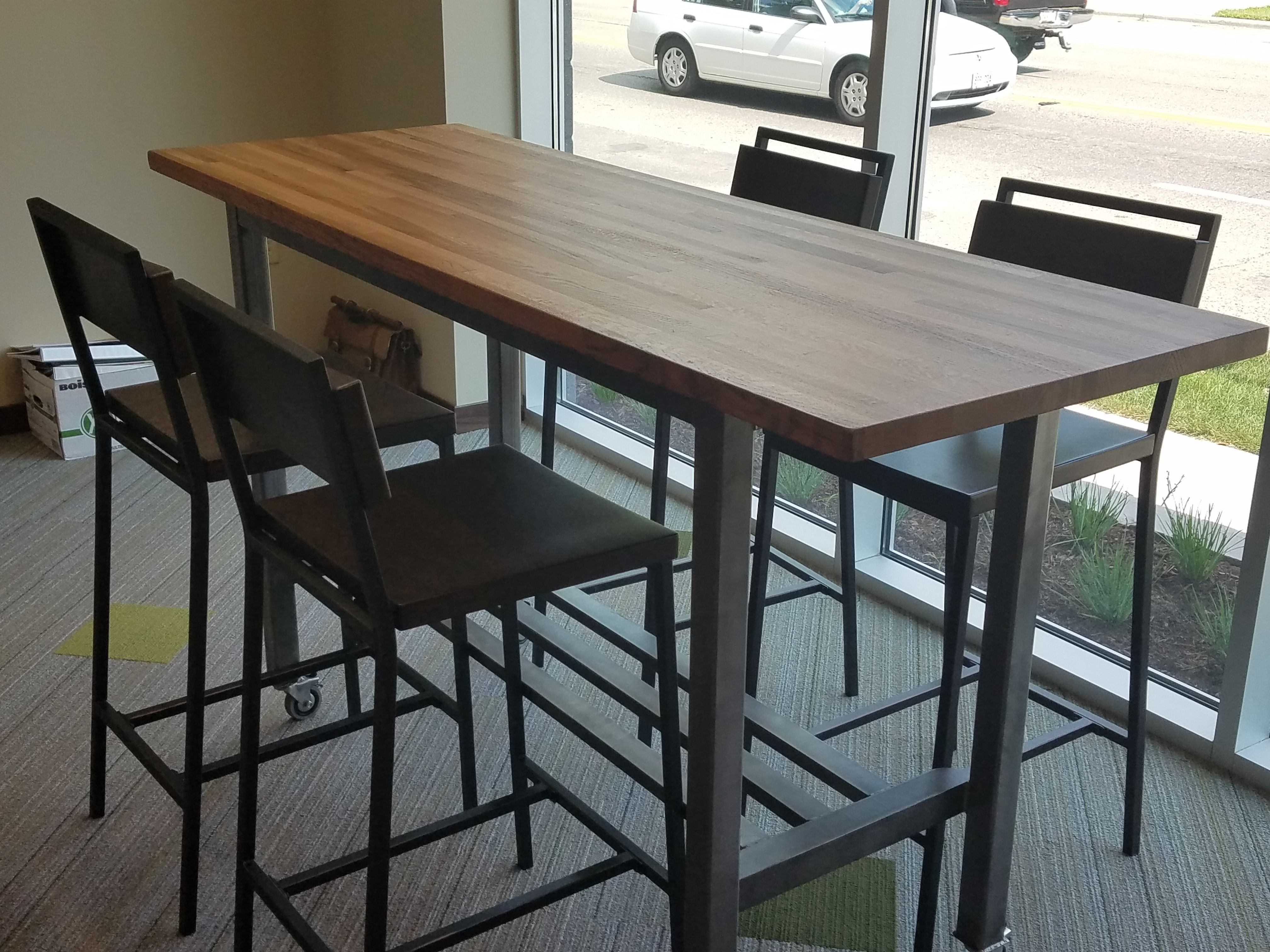 High Top Conference Dining Table High Top Tables High Top Table