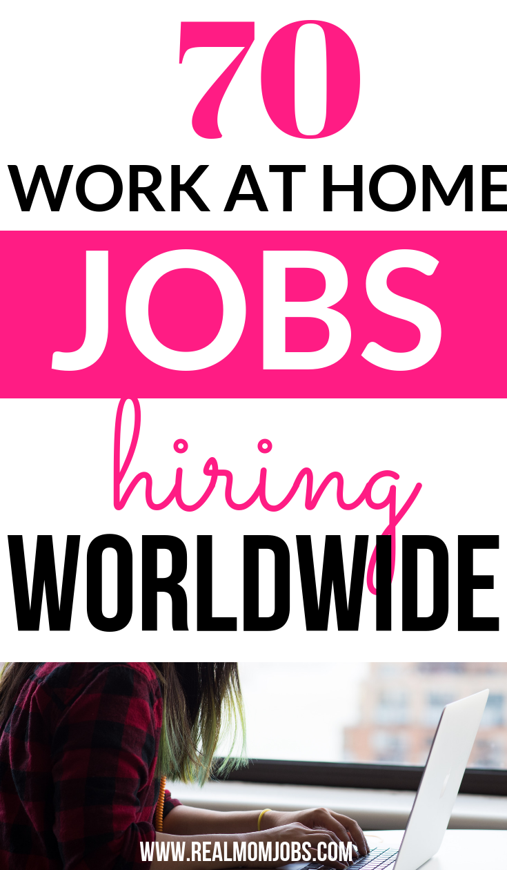 Looking for work at home companies hiring now? Here's a huge