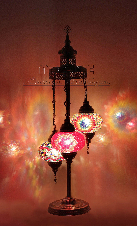 Amazing Turkish Floor Lamp Turkish Lamp Moroccan Lamp Unique Lamp