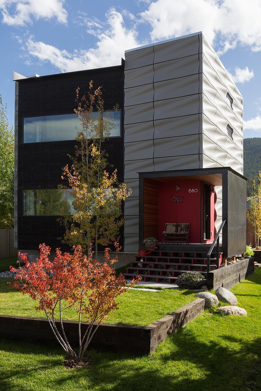 Casa SK reformada al estilo contemporáneo, Austria http://www ...
