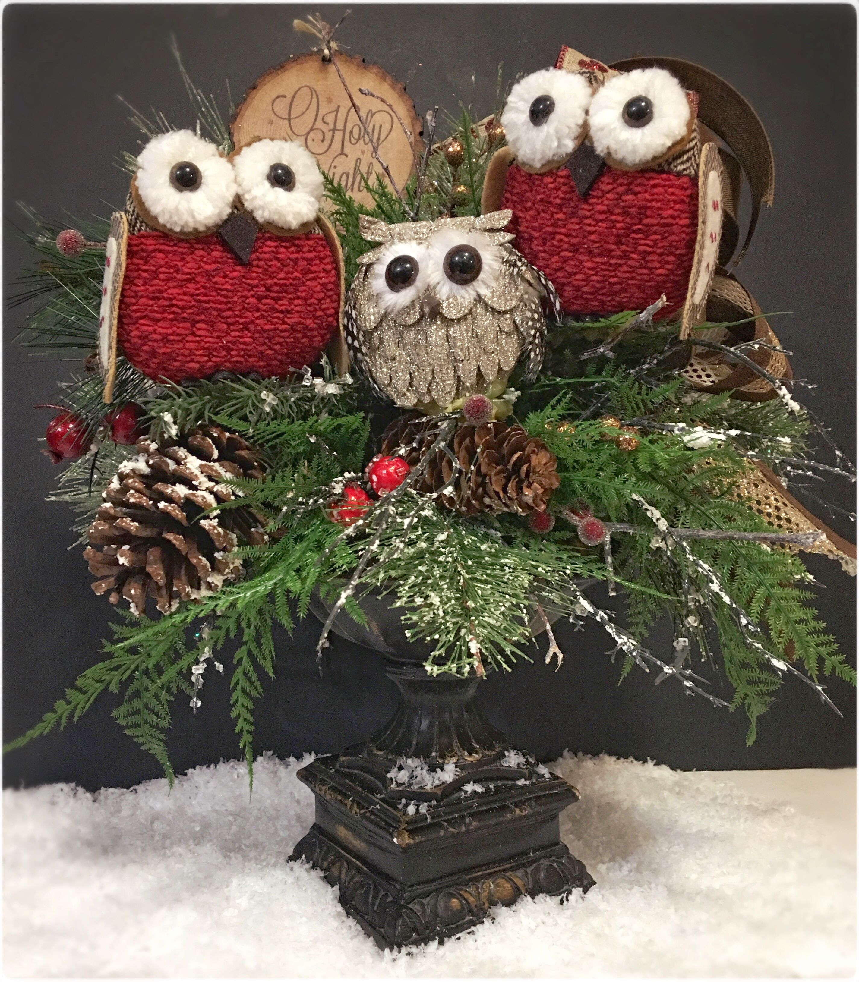 Cutest little owl family httpswwwetsycomlisting569070075