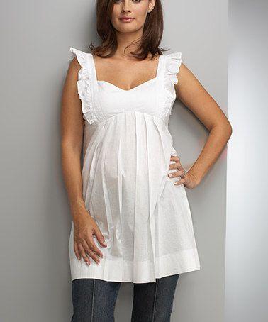 Maternal America Womens Maternity Jessica Tunic