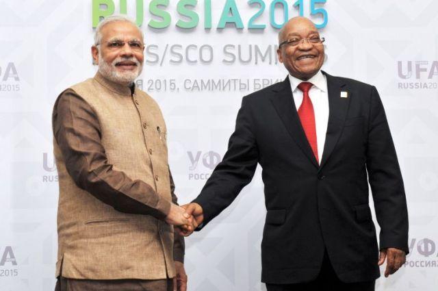 PM Narendra Modi held bilateral meetings with African Leaders