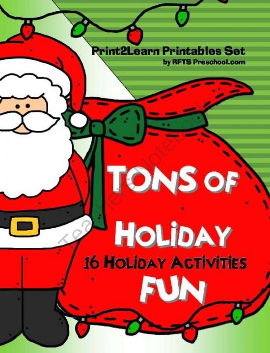 Tons of Holiday Fun GiveAway - Enter to win my newest product