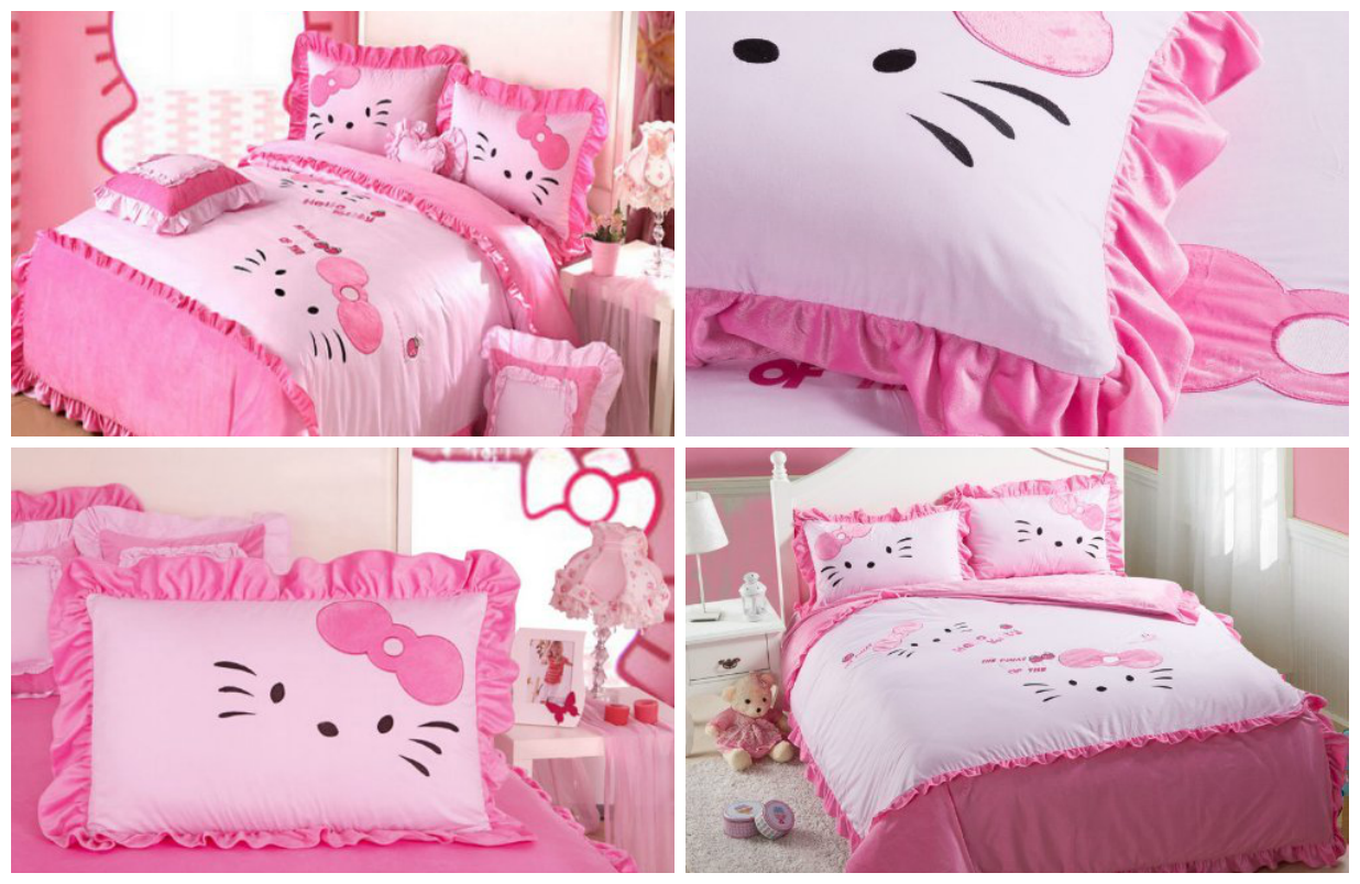 Hello Kitty Bedding For Kids Hello Kitty Bedroom Hello Kitty