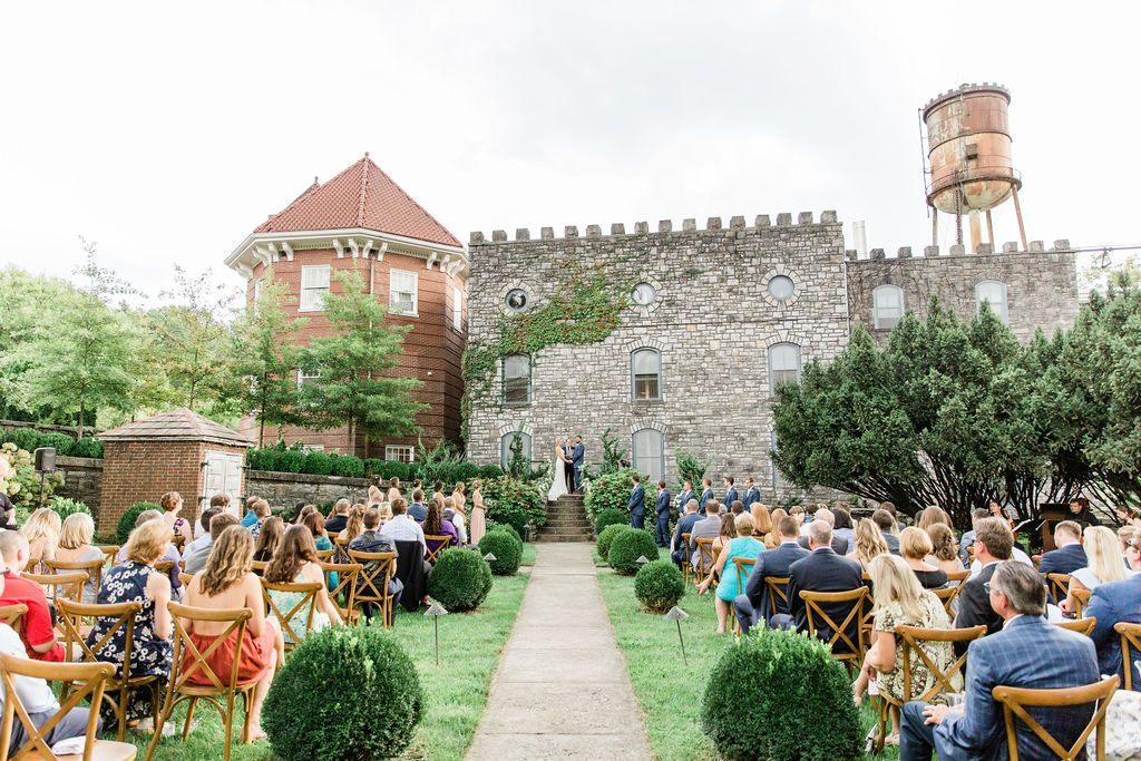 Wedding Ceremony At Castle Key Distillery In 2020 August Wedding Ceremony Wedding