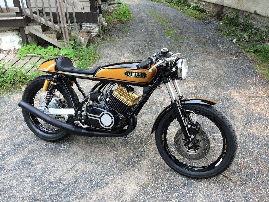 Yamaha DS7 | Çαƒé Яαçėя§ | Yamaha bikes, Yamaha cafe racer