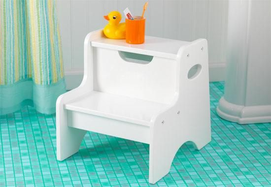 Two Step Stool White Gift Ideas For 2 Year Old Stool