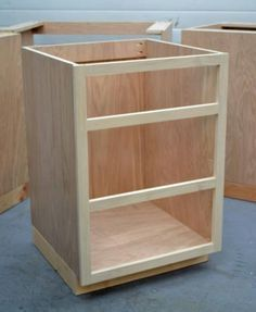 Build A Base Cabinet Carcase For $50 . . . And Thatu0027s With Beautiful  PureBond Formaldehyde