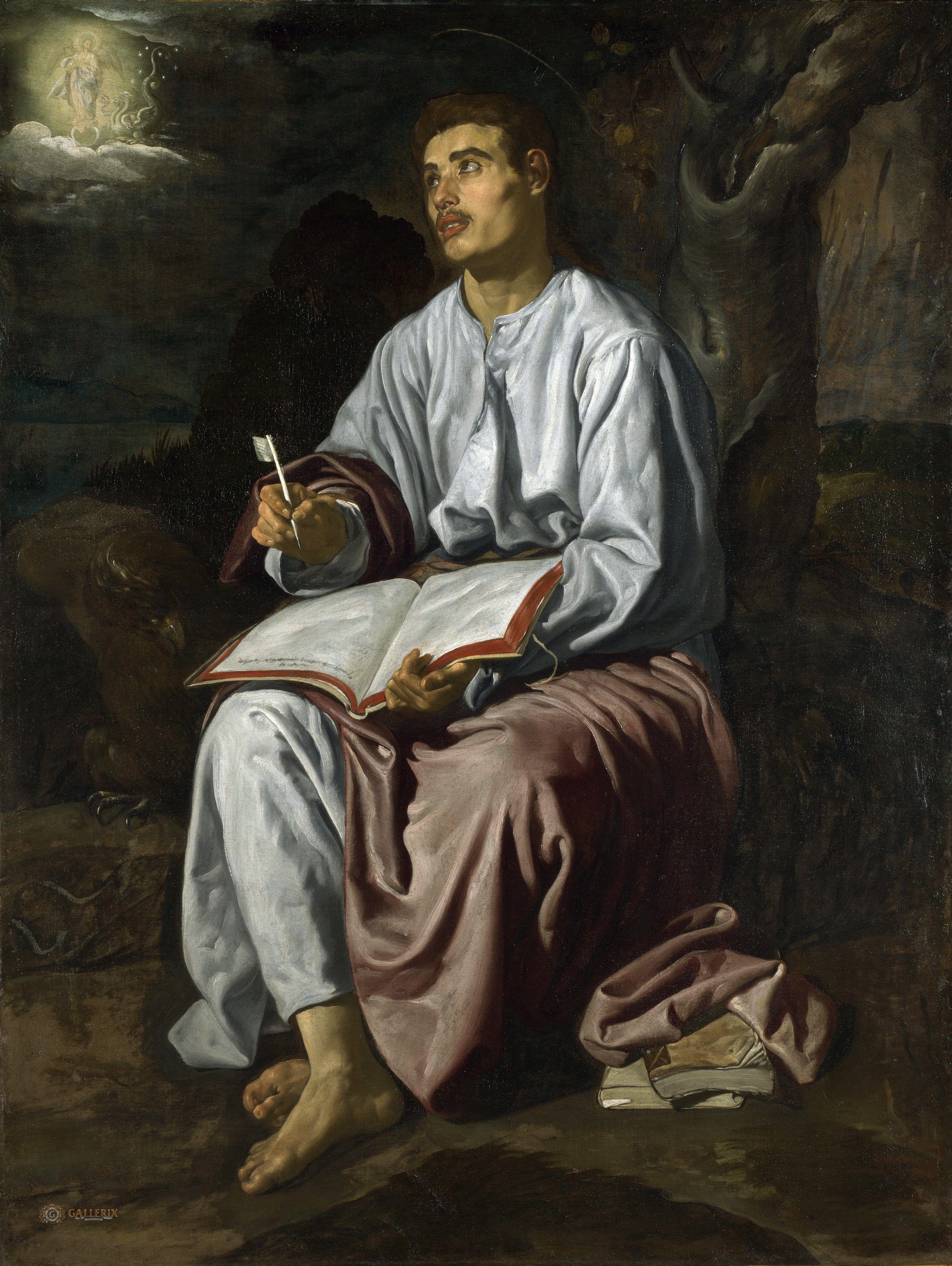 john the evangelist from patmos · velázquez