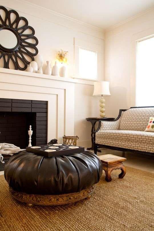 10 idee per il colore delle pareti in soggiorno - Soggiorno rustico ...