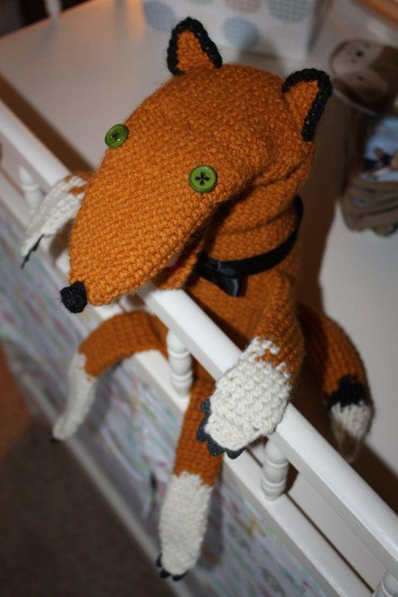 mr.fox hand puppet