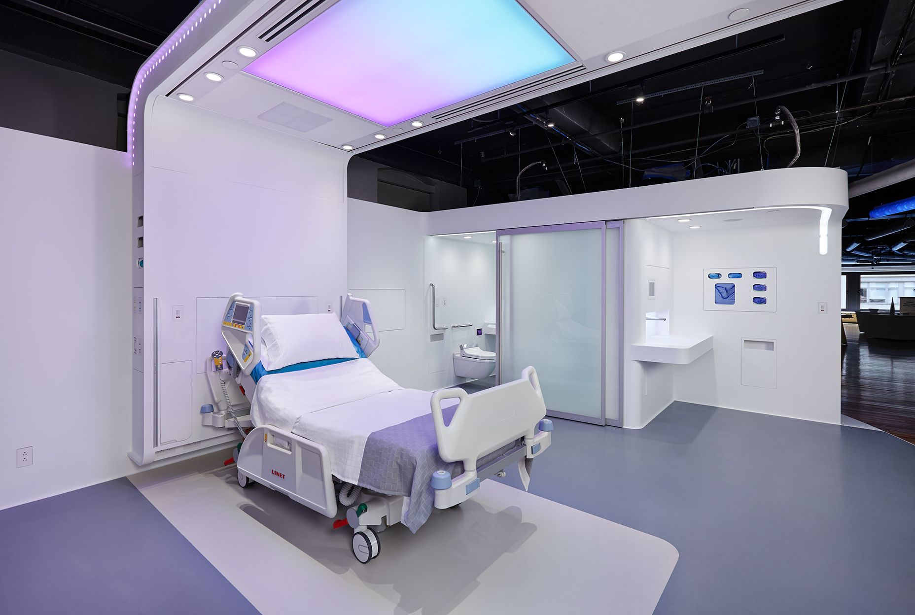 A collaborative design for an in patient healthcare environment of the future intense lighting