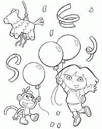 Pin By Michelle Fleeman Hawkins On Kynners 3rd Bday Explorer Birthday Party Birthday Coloring Pages 2nd Birthday Parties