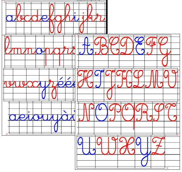 Relativ cursive letters montessori method - Buscar con Google | Language  DB76