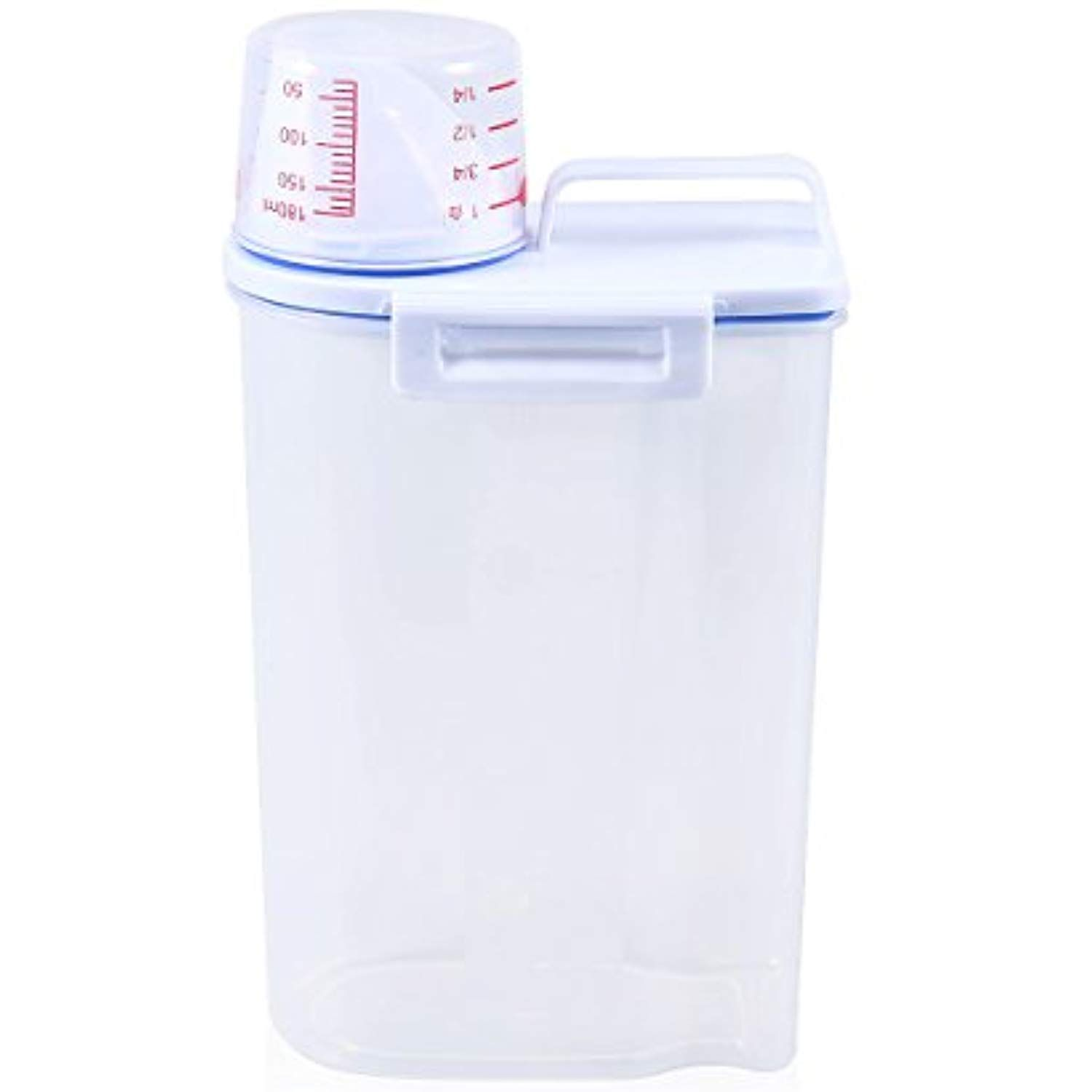 Ueetek Pet Food Container Dog Food Storage Containers Pet Dry Food Dispenser With Graduated Cup Dog Food Storage