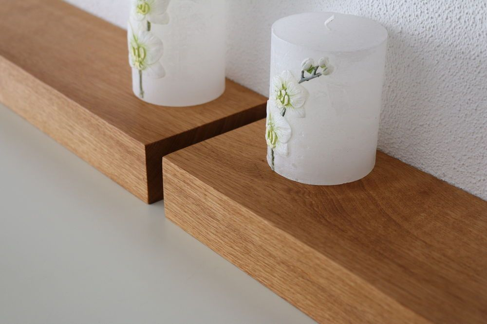 2xwandboard Eiche Massiv Holz Board Regal Steckboard Regalbrett Neu Auch Auf Mass Ebay Regal Regalbretter Eiche Massiv