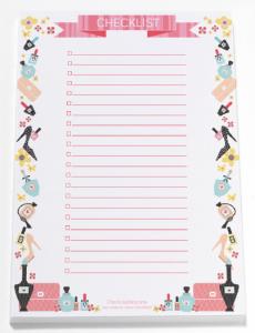 free checklist printable