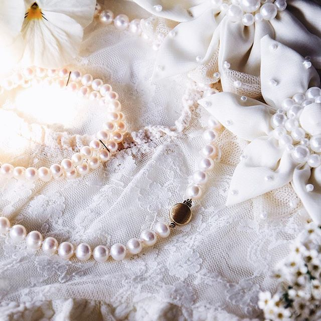 Hochzeitsstimmung steigt  #hochzeit #perlen #perlenschmuck