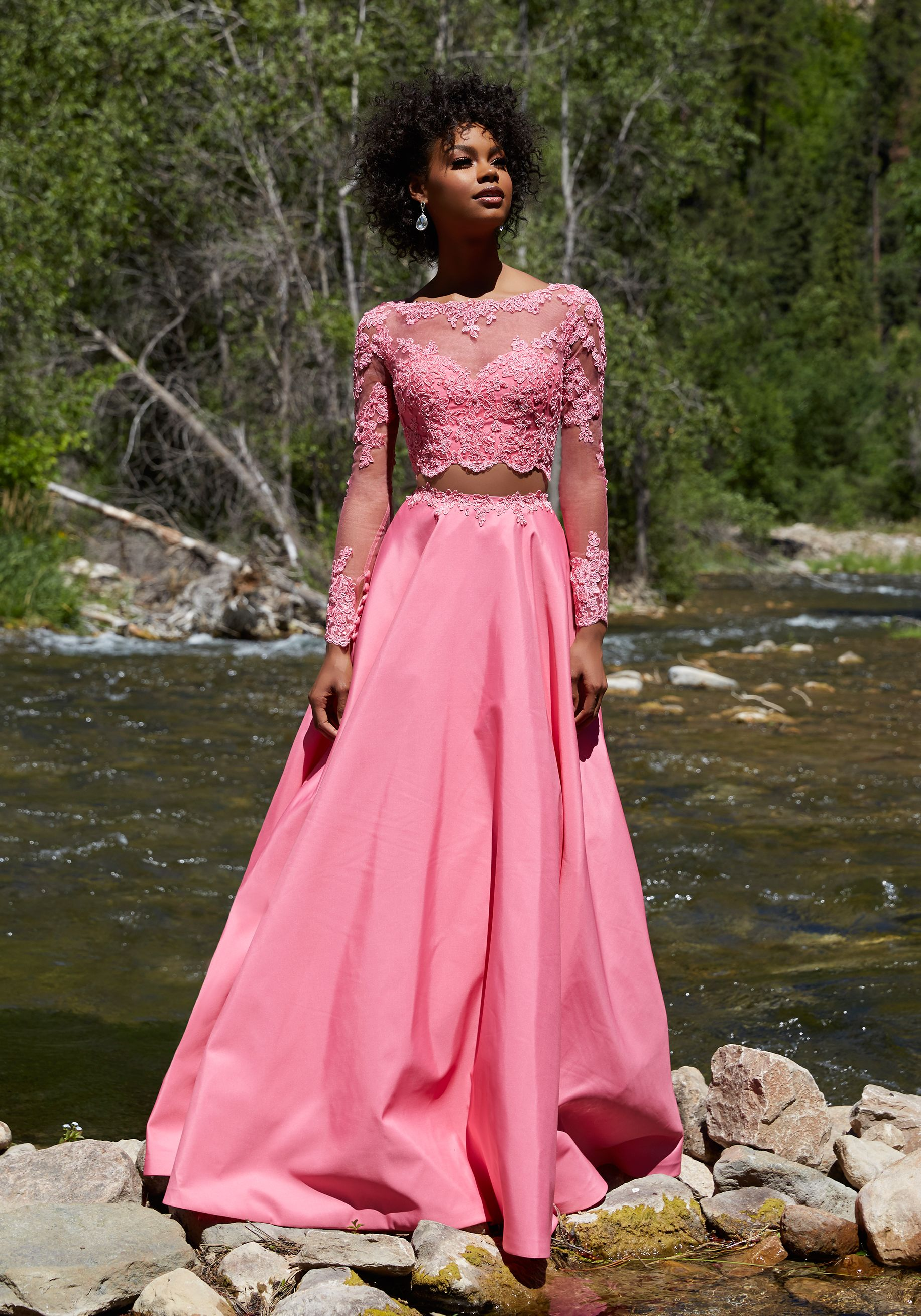 Prom Dresses by Morilee designed by Madeline Gardner. Two-Piece Prom ...