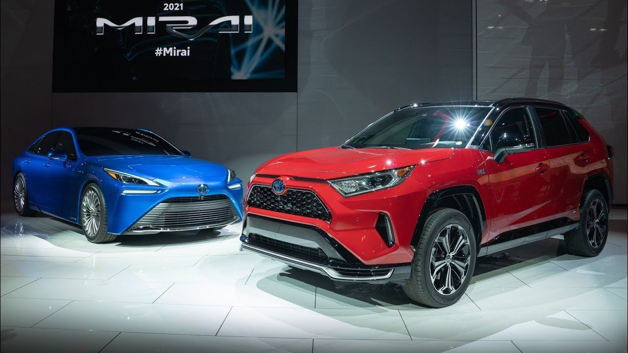 2021 Toyota Rav4 Prime And Toyota Mirai Reveals At La Auto Show 2019