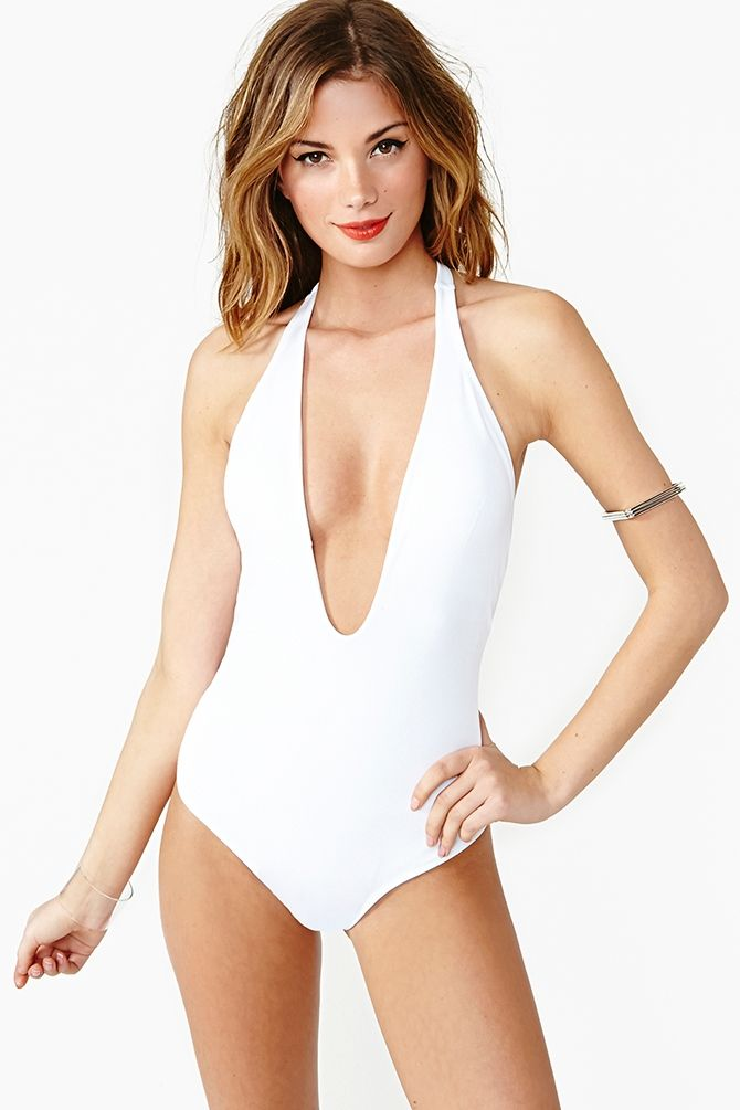 0e1b4dff6d9 Flamingo Swimsuit in White | give me these and no one gets hurt ...