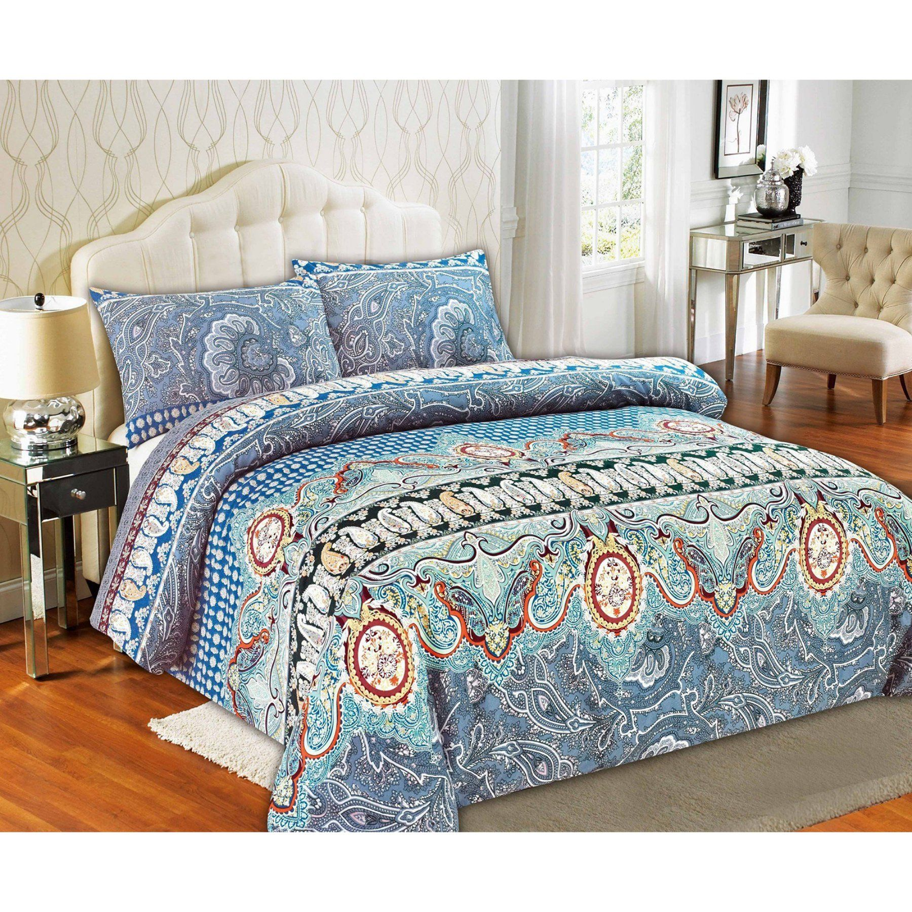 Paisley Monarch Duvet Cover Set By Tache Home Fashion