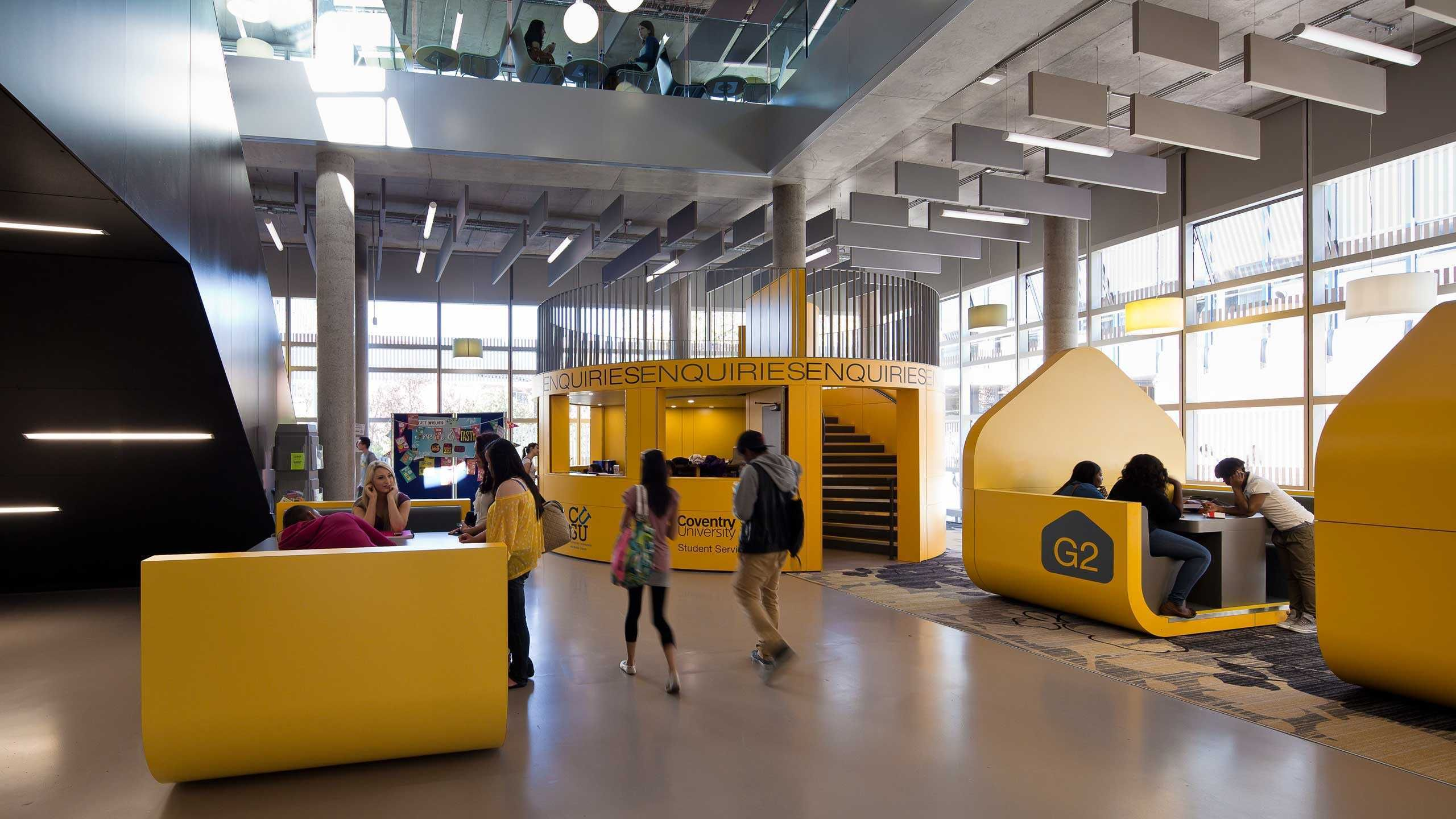 Pioneering New Social Learning And Support Facilities For Coventry University Winner Of The Education Estates