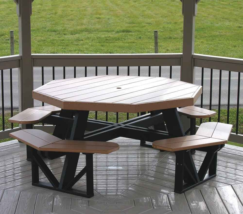 Octagon Polywood Picnic Table 1286 When S The Half