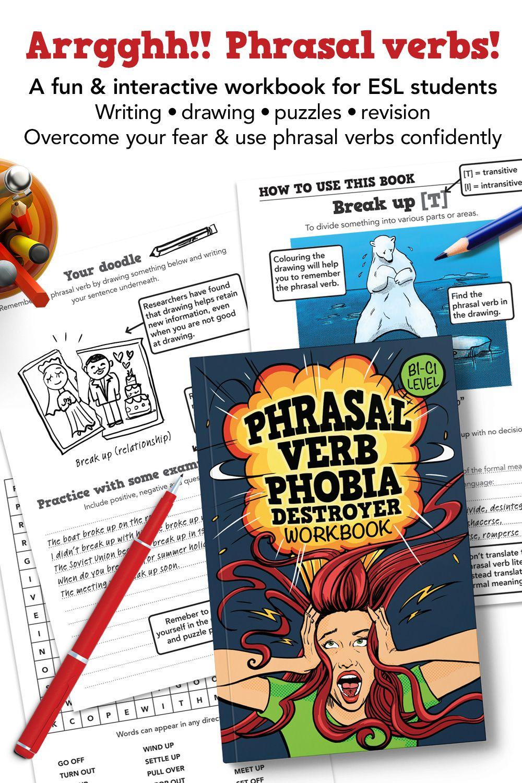 Phrasal Verb Worksheet Workbook Esl Teaching Resources How To Memorize Things [ 1500 x 1000 Pixel ]
