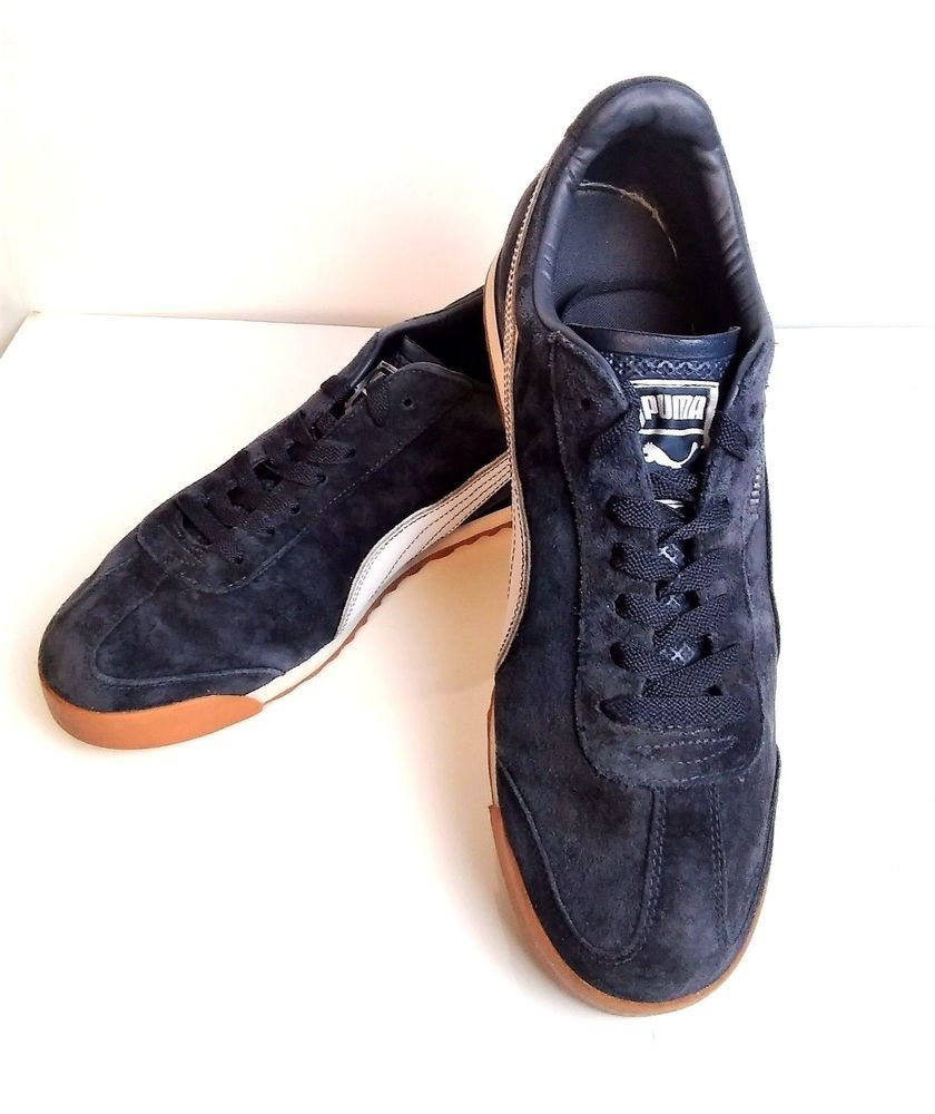 check out 36921 95e94 Puma Roma Men's Sneakers Size 13 M Dark Blue Suede Shoes ...