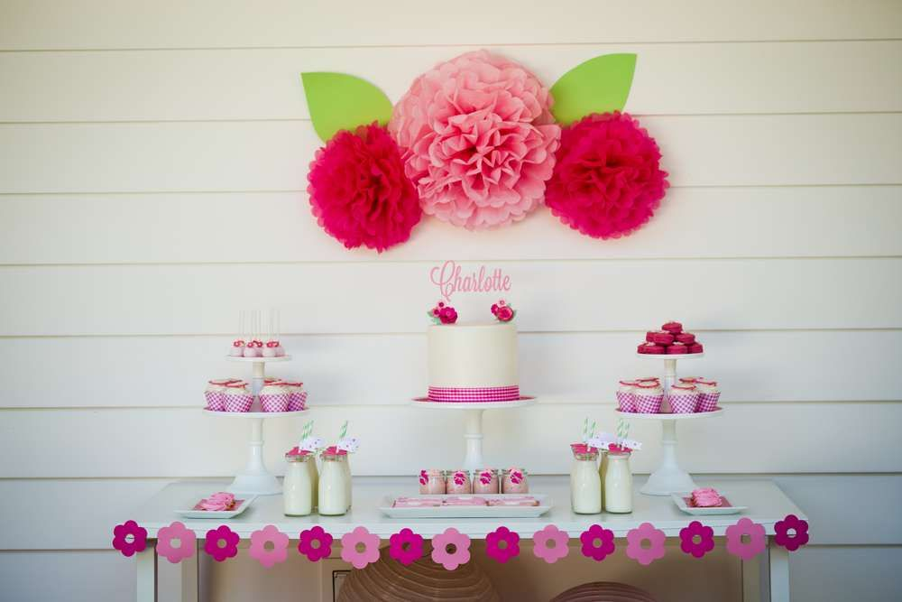 garden party Birthday Party Ideas | Photo 9 of 45 | Catch My Party