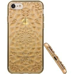 Photo of Diamant 3D Case Gold/ Transparent für Ihr iPhone 8Gahatoo