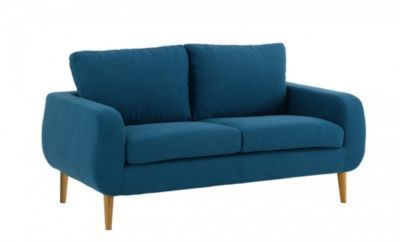 Decouvrez Fly Sixties Canape 2 Places Bleu Canard Sur Mappyshopping Mobilier De Salon Canape 2 Places Canape Fixe