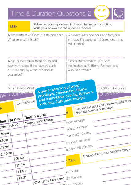 Time Word Problems and Timetables | Worksheets, Math and Word problems