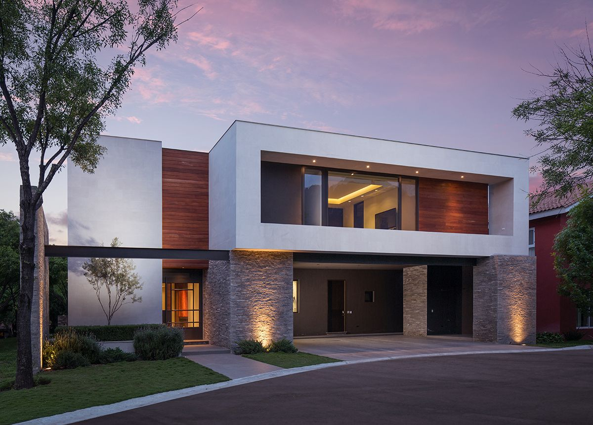 Sensacional cuadrada y minimalista fachadas - Casas arquitectura moderna ...
