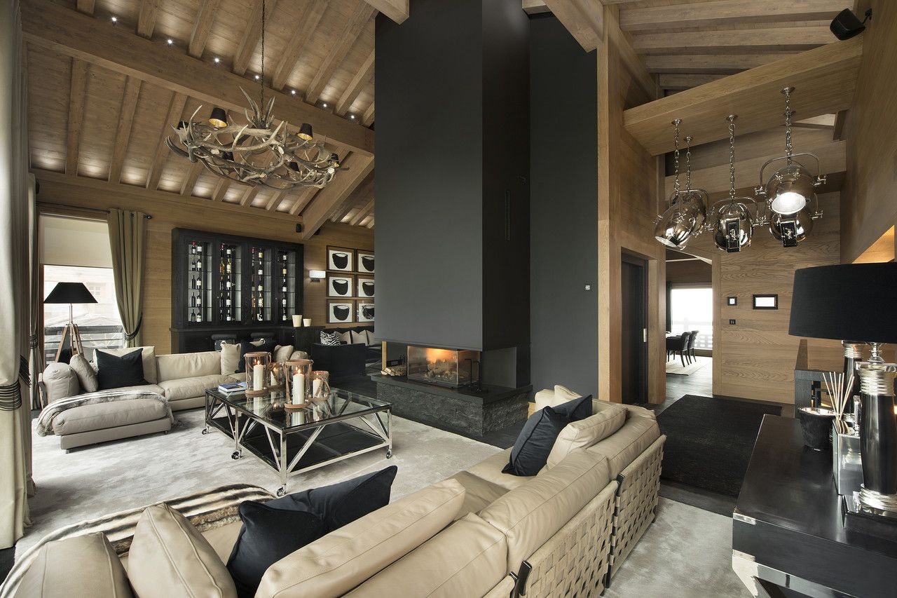 Ski Chalet Interior Design your $60k-a-day chalet (with images) | chalet design, chalet