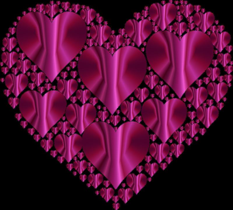 Free Image on Pixabay Heart, Hearts 3, Love, Shape