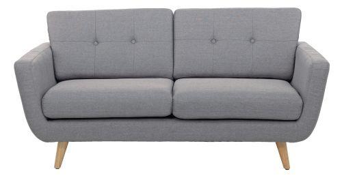 Sofa Lewis Stoff Grau Standfusse Holz Massiv Polstermobel Im Kika Online Shop Love Seat Furniture Couch