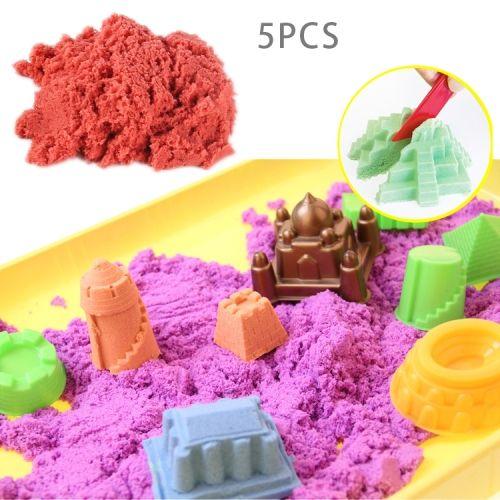 100g Color Diy Ultra Light Modeling Clay Mud Slime Space Modeling Sand Plasticine Slime Toys For Children Kids Modeling Clay random Color