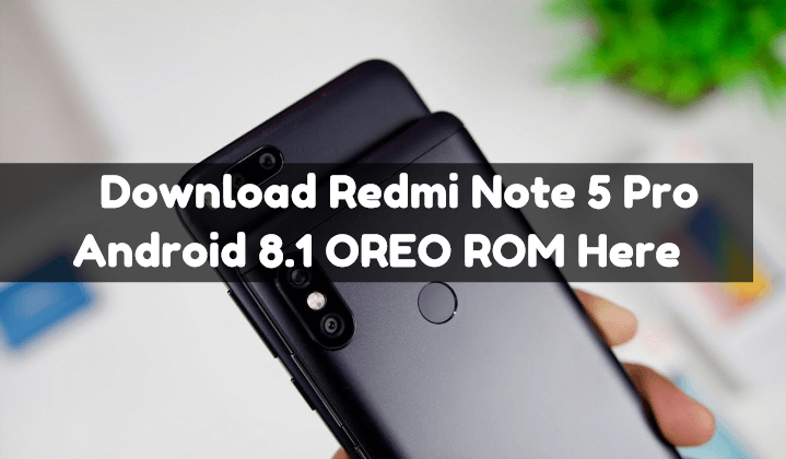 Download Redmi Note 5 Pro Android 8 1 OREO ROM [MIUI 9 8 5