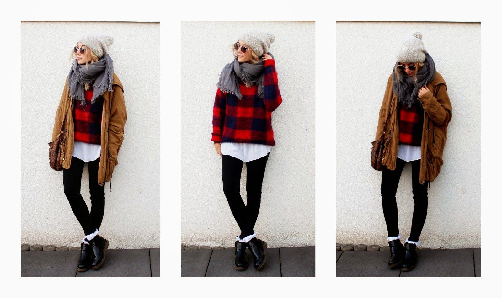 Nanda Schwarz layers up the Highland Knit. #YAYER #fblogger