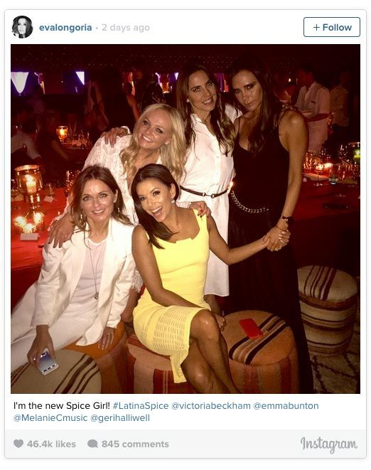 The Spice Girls Reunited This Past Weekend & They Look FAB!