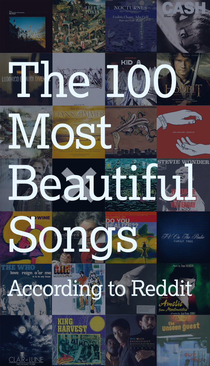 The 100 Most Beautiful Songs in the World, According to