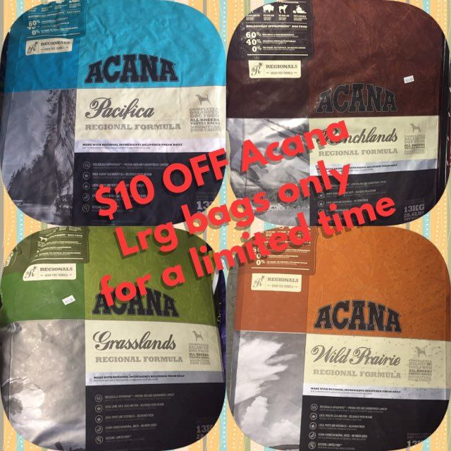 Acana On Sale Now Pawprintpantry Acana Dogfood 5stars