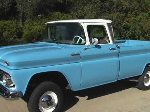 1962 Chevy C 10 Original 4 Wheel Drive Pick Up For Sale On Ebay Chevy Lifted Chevy Cool Trucks
