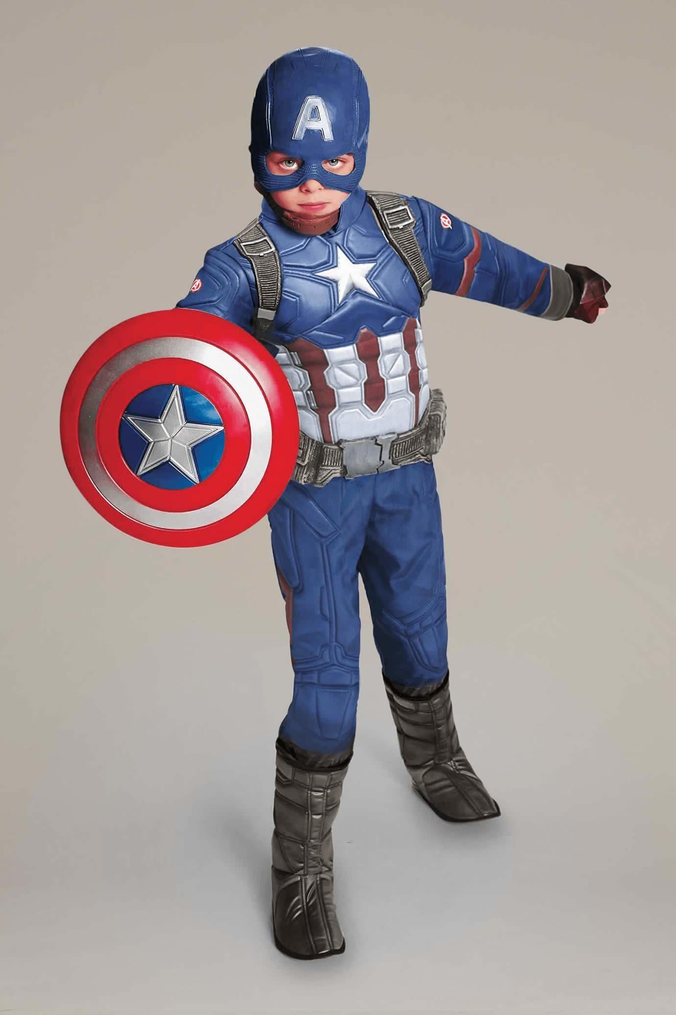 Ultimate Captain America® Costume For Kids - Civil War #Chasingfireflies $89.00 & Ultimate Captain America® Costume For Kids - Civil War | Pinterest ...