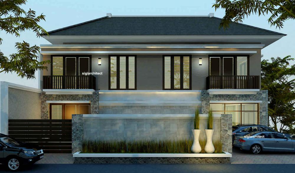 Desain Rumah Tropis Minimalis 2 Lantai House Styles House