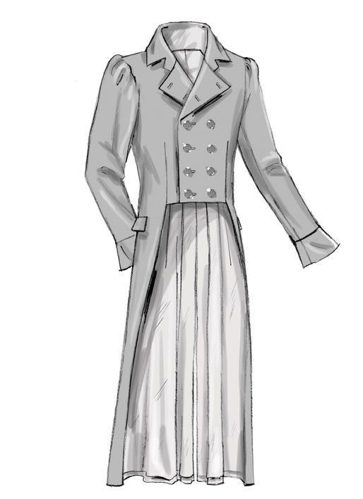 Butterick B6573 Men\'s Jacket #sewingpattern #makinghistory   Costume ...