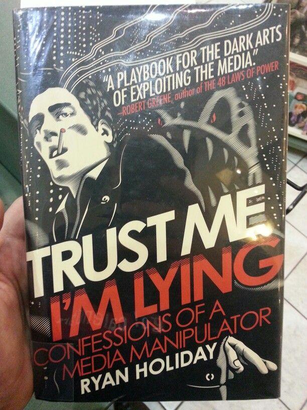 trust me i m lying book